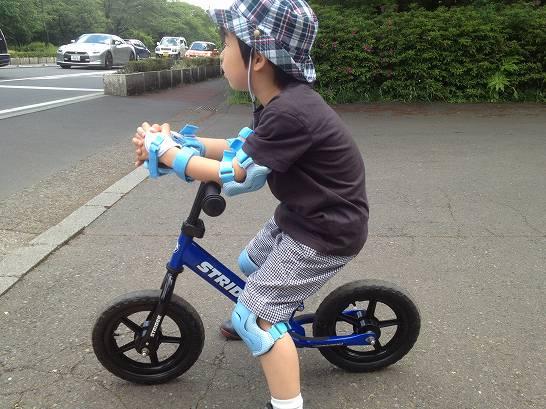 補助なし自転車には乗れない ...
