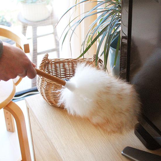 【再入荷】ニュージーランドの羊毛ダスターが入荷しました!