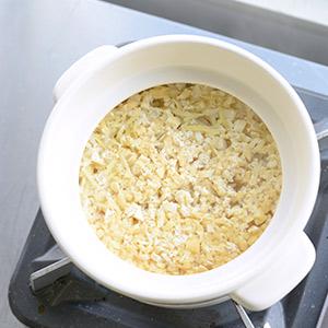 【特集 ぽかぽか生姜レシピ】第1話:油揚げから出汁をとる、生姜ごはん。