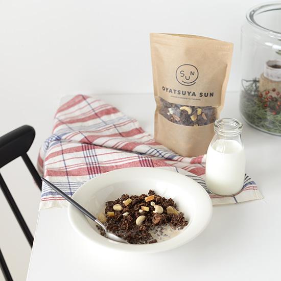【ココアグラノーラ再販】コーヒーのお供にもおすすめ。ココアグラノーラ。