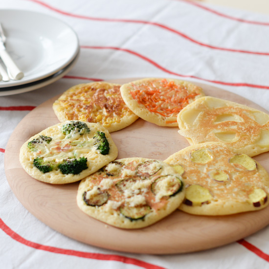 【料理家さんの定番おやつ】お家にある野菜でOK!ふわモチッ「野菜のパンケーキ」レシピ