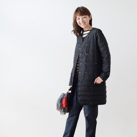 【新商品】軽やかで暖かく、持ち運びにも便利!アンキャシェットのダウンロングコートが新登場。