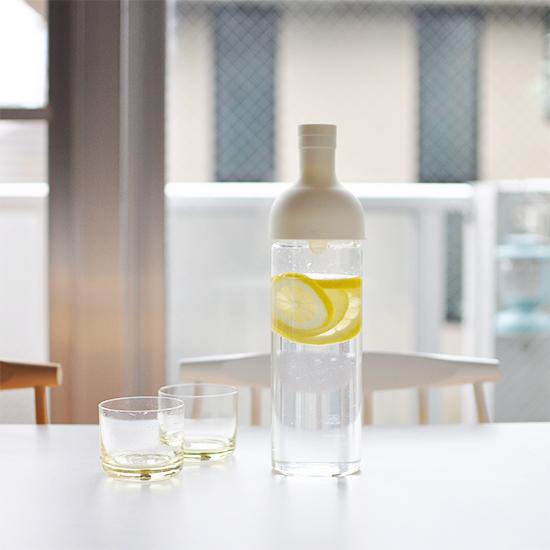 【スタッフの愛用品】HARIO/ハリオ/フィルターインボトル(ホワイト)750ml