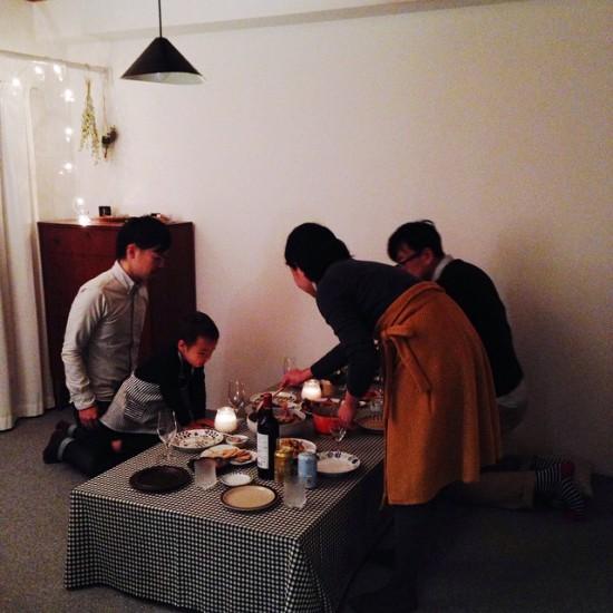 【店長コラム】我が家でKURASHI&Tripsの新年会を開いた日のこと。