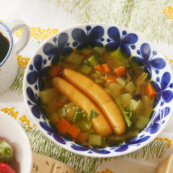 【朝ごはん特集 冬のホッと朝スープ】第4話:スープストックをつくろう