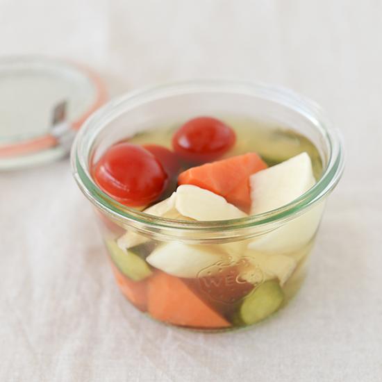 【料理家さんの定番レシピ】基本のかんたん常備菜、ピクルス。