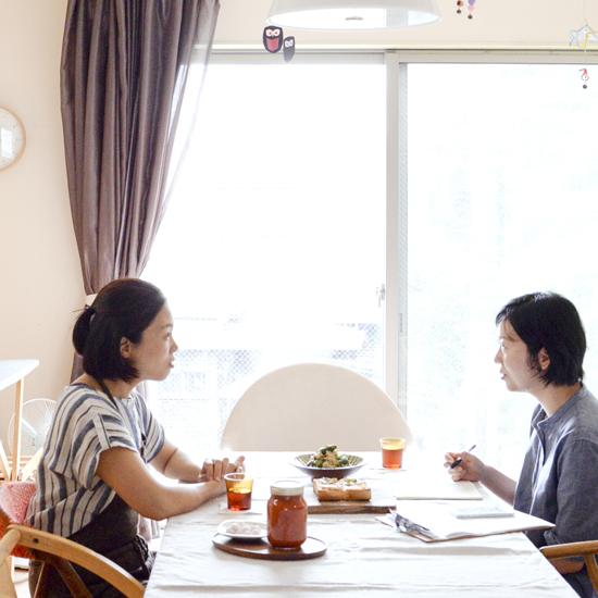 【特集|子どもと食しごと】第5話:料理家 江口恵子さんとお話する、食しごとのこと。