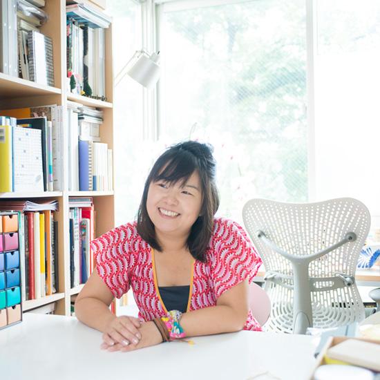 【はたらきかたシリーズ】デザイナーで2児の母・田中千絵さん 第1話:笑顔がたえない、仕事と子育ての考え方