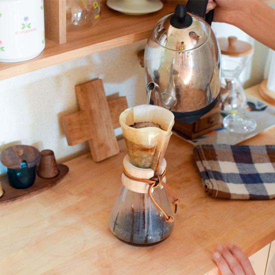 【みんなのコーヒー物語】おしゃれ度を押しあげてくれる、ケメックスのある風景。