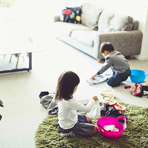 【OURHOME Emiさんの収納術】第2話:ヒントは保育園にあった!子どもが自分で片づけられる収納術。