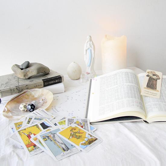 【朝の過ごしかた】香りやカードで、自分をいろんな方向から見ています(田仲千春さん)