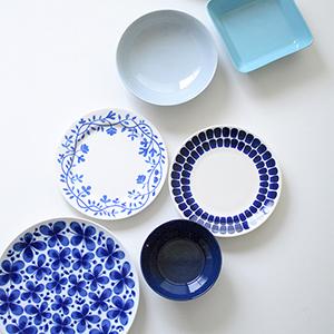 【スタッフのアイデア帖】北欧ブルーにひとめぼれ!青のうつわを集めました。