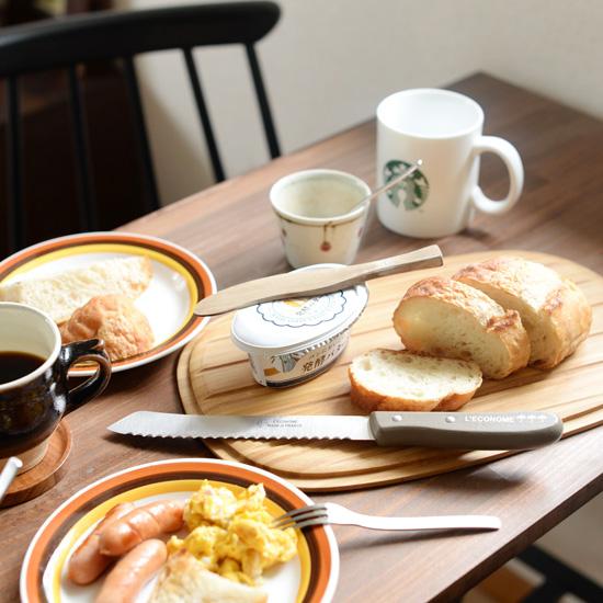 【スタッフの愛用品】パン好き、なのに持っていなかったブレッドナイフをついに迎えました!