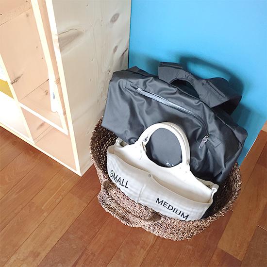 【スタッフコラム】どうしてますか?帰宅後かばんの置き場所
