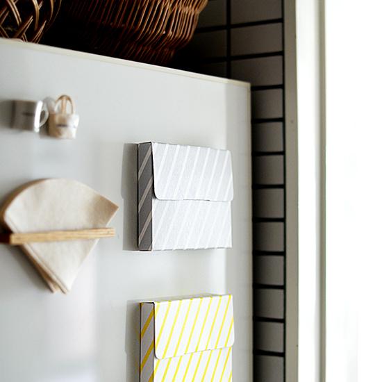【店長佐藤の愛用品】掲示板がわりだった我が家の冷蔵庫が、ずいぶんスッキリしました。