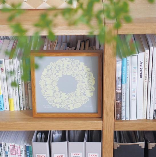 【スタッフの愛用品】壁も本棚も、飾る楽しみを届けてくれたバーズワーズのポスター。