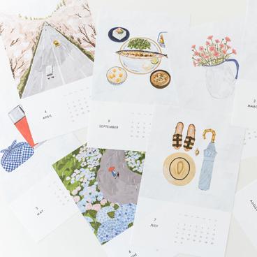 【新商品】飾るのが楽しくなる仕組みたっぷり。オリジナルカレンダー2017が登場!