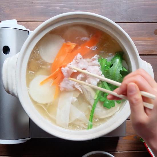 【ただいま収穫中!】旬の大根1本まるごと使い切り!簡単「お鍋」レシピ