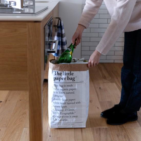 【新商品】見せたくないを魅せる収納に。ゴミ箱代りにもなるbe-poles(ビーポール)のペーパーバッグが新登場!