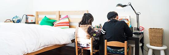 子ども部屋のつくり方の画像