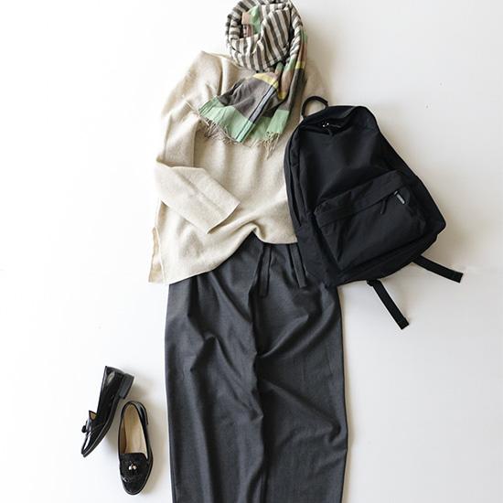 【新商品】バイヤー愛用のバックパック。軽さ、ポケット使いに惚れました。
