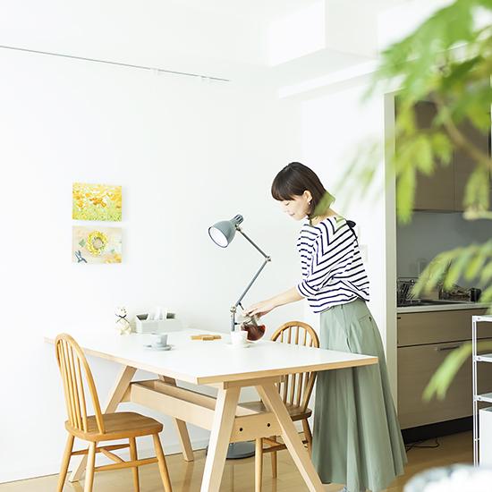 【BRAND NOTE】後編:窓のない空間も楽しむために。スタッフ宅で実践、インテリア術。