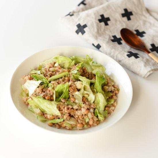 【料理家さんの定番レシピ】栄養満点の納豆チャーハンレシピ