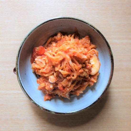 【ただいま収穫中!】10分で簡単、切り干し大根を使った「トマト煮」のレシピ