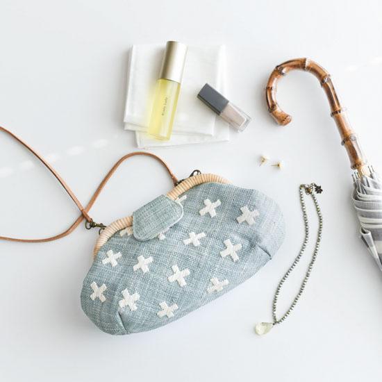 【新商品】初夏のお出かけに持ちたい!人気の2wayラフィアバッグが当店だけの別注柄で登場です♪