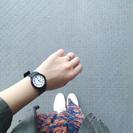 【スタッフの愛用品】久し振りに、腕時計を新調しました。