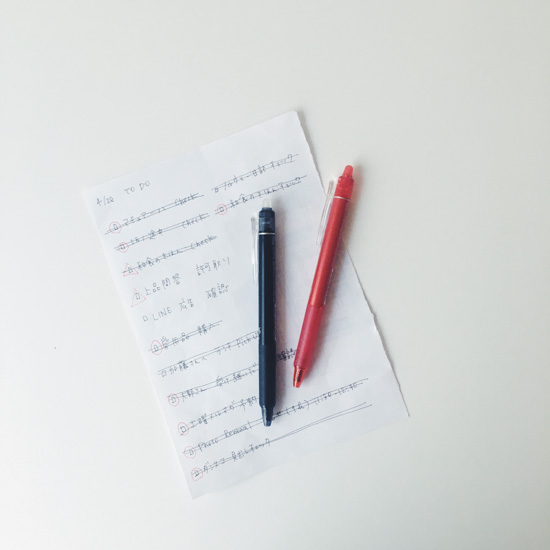 【スタッフコラム】仕事がいそがしいときは、書く!