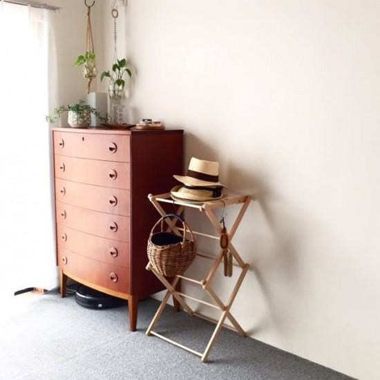 【店長佐藤の愛用品】和室にも置ける小家具に悩んだ日々にサヨナラ!「ちょうどいい」収納道具に。