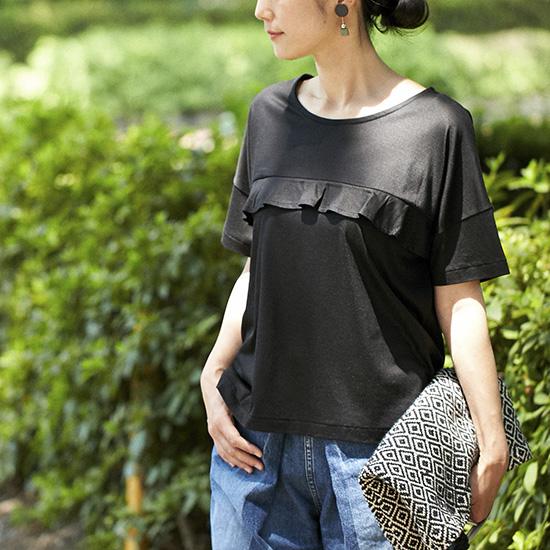 【新商品】Tシャツ迷走さんに朗報!アンキャシェットが叶える大人に似合う夏トップス。