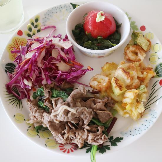 【クラシコムの社員食堂】中国野菜やわさびで、緑たっぷりの社食でした!