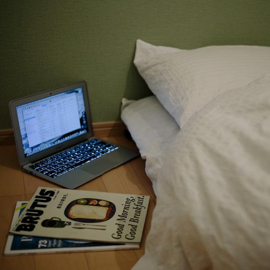 【寝る前の習慣カタログ】日中は心配性だから、寝る前は自分を甘やかします。