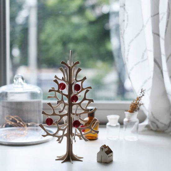 【新商品&再入荷】白樺のツリーが新サイズと価格で登場。デンマークのウールブランケットも届きました♪