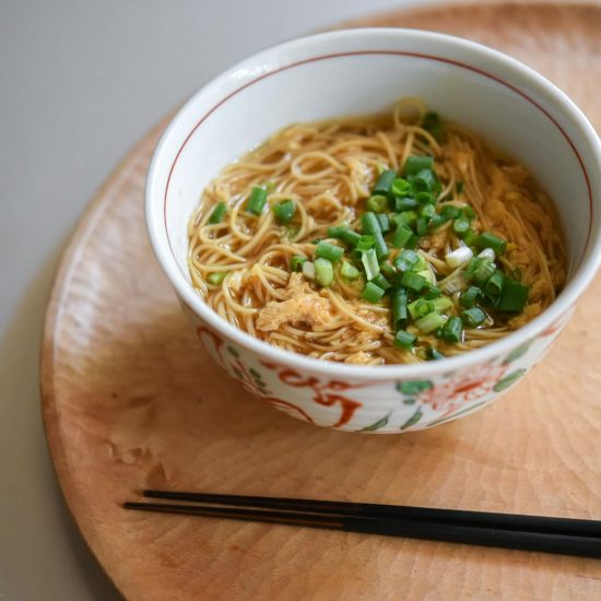 【料理家さんの定番レシピ】第8話:肌寒い日に。身体を温める、にゅうめんのレシピ