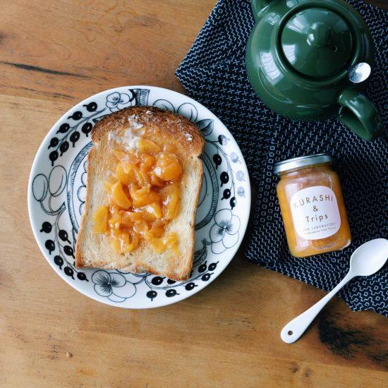 【ジャム販売】最後にお届けするのは「柿ジャムシナモン風味」です。今までありがとうございました!