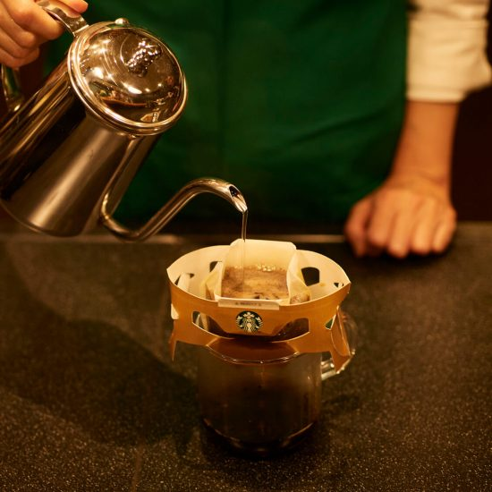 【BRAND NOTE】スターバックス社員に聞く! 家庭用ドリップコーヒーをおいしく淹れるには?