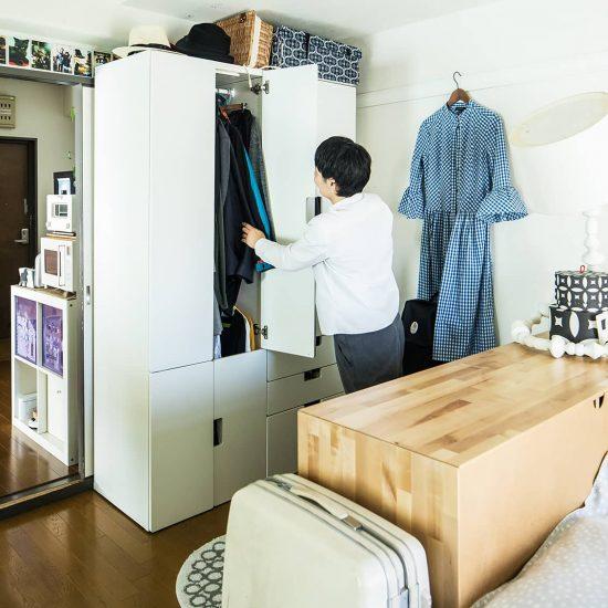【間取り図鑑】第2話:収納が少なくても大丈夫!クローゼット収納の救世主は、IKEAの子供用家具でした