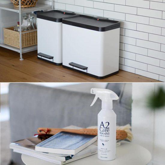 【新商品】新生活を心地よく、快適に♪モヤモヤ解決のふた付きゴミ箱と除菌・消臭アイテムが入荷しました!