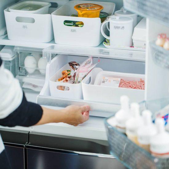 【サイクル上手の冷蔵庫】第2話:ドアを開けば食材が一目瞭然!IKEAや100円均一が大活躍