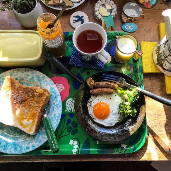 【わが家の朝支度】これから始まる1日にエンジンをかけるための、朝支度(カトウジュリさん)
