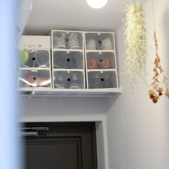 【玄関調べ】第3話:靴箱がなくても、大丈夫!収納力を最大限UPした、アイデア玄関