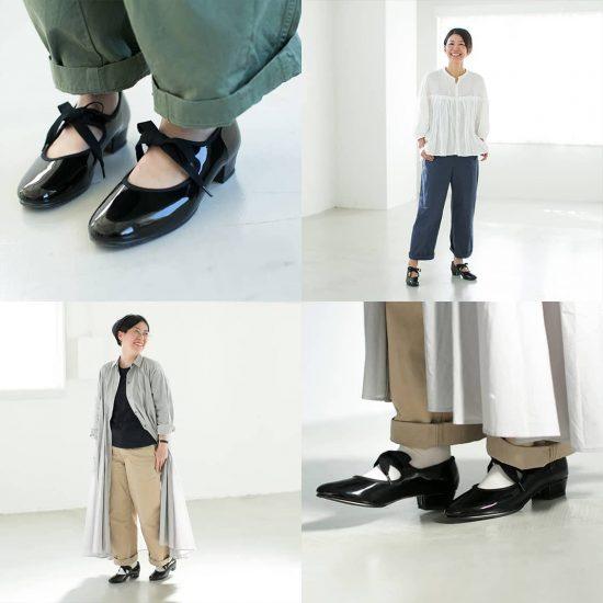 【着用レビュー】キャットワースのリボンシューズを、足のサイズが異なる3名が履いてみました!
