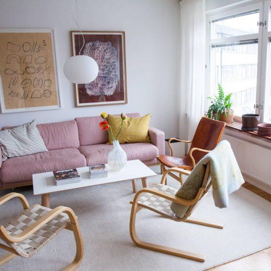 【北欧インテリア特集】第1話:ストックホルム郊外、築57年のアパートへお邪魔しました