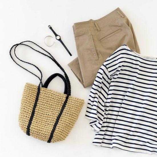 【当店限定】ショルダーにもトートにもなる、軽やかなかごバッグを当店オリジナルでつくりました!