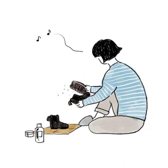 【バイヤーのコラム】靴を磨く。