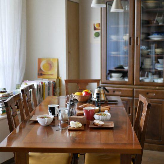【わが家の朝支度】実は朝にぴったり?日替わりスープのある朝じかん(有賀薫さん)