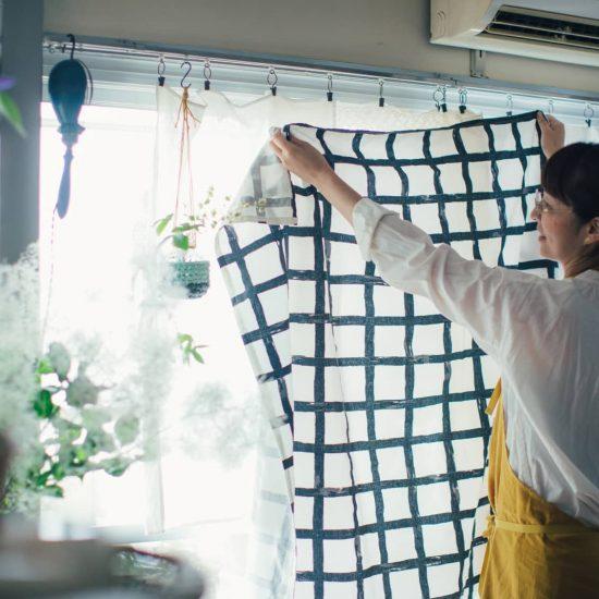【窓辺ライフ】前編:カーテンはもっと自由になる?窓から考えるインテリア